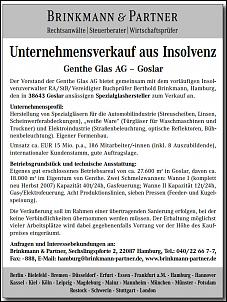 Klicken Sie auf die Grafik für eine größere Ansicht  Name:genthe glas ag goslar unternehmensverkauf.jpg Hits:12 Größe:280,0 KB ID:13670