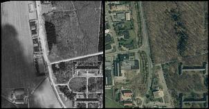 Klicken Sie auf die Grafik für eine größere Ansicht  Name:fliegerhorst goslar 1945 und heute.jpg Hits:56 Größe:275,2 KB ID:14229