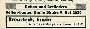 Klicken Sie auf die Grafik für eine größere Ansicht  Name:Breustedt_Telefonbuch 1955.jpg Hits:10 Größe:21,3 KB ID:7449