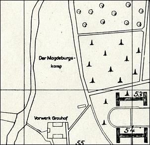 Klicken Sie auf die Grafik für eine größere Ansicht  Name:Abb. 11 Lageplanausschnitt vom März 1949 (StA GS RR V-46-2).jpg Hits:21 Größe:195,7 KB ID:14237