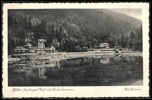 Klicken Sie auf die Grafik für eine größere Ansicht  Name:AK-Goslar-Herzberger-Teich-mit-Gasthaus-Kinderbrunnen.jpg Hits:261 Größe:56,3 KB ID:12109
