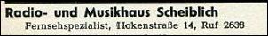 Klicken Sie auf die Grafik für eine größere Ansicht  Name:Scheiblich - Telefonbuchauszug 1955.jpg Hits:6 Größe:8,7 KB ID:2068
