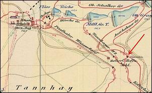 Klicken Sie auf die Grafik für eine größere Ansicht  Name:Sägemühle Sandkuhl 1893.jpg Hits:23 Größe:158,5 KB ID:18654