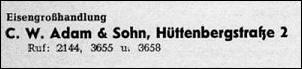 Klicken Sie auf die Grafik für eine größere Ansicht  Name:adam und sohn oker, hüttenbergstraße.jpg Hits:6 Größe:8,4 KB ID:13690