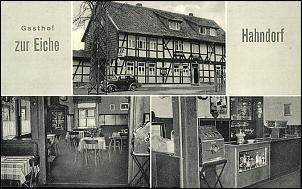 Klicken Sie auf die Grafik für eine größere Ansicht  Name:Gasthof zur Eiche Hahndorf ca. 1960.jpg Hits:18 Größe:74,1 KB ID:8219