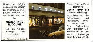 Klicken Sie auf die Grafik für eine größere Ansicht  Name:modenhaus rudolph goslar, breite straße, 1988.jpg Hits:7 Größe:247,5 KB ID:13773