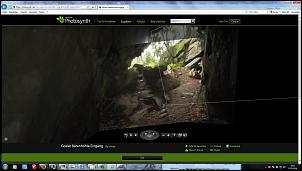 Klicken Sie auf die Grafik für eine größere Ansicht  Name:Photosynth Baerenhoehle Hoehlenausgang.jpg Hits:111 Größe:41,7 KB ID:15577