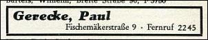 Klicken Sie auf die Grafik für eine größere Ansicht  Name:Gerecke _ Telefonbuch 1955.jpg Hits:3 Größe:10,7 KB ID:7445