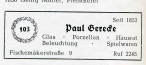 Klicken Sie auf die Grafik für eine größere Ansicht  Name:Gerecke 2_Telefonbuch 1955.jpg Hits:75 Größe:14,7 KB ID:7446