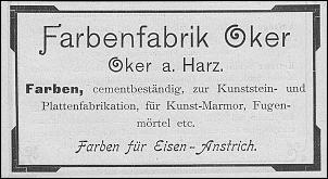 Klicken Sie auf die Grafik für eine größere Ansicht  Name:goslar, Farbenfabrik Oker.jpg Hits:3 Größe:189,2 KB ID:14161