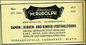 Klicken Sie auf die Grafik für eine größere Ansicht  Name:Modenhaus Rudolph3_Telefnbuch 1955.jpg Hits:2 Größe:94,7 KB ID:7435