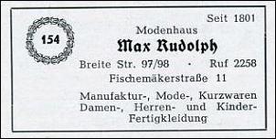 Klicken Sie auf die Grafik für eine größere Ansicht  Name:Modenhaus Rudolph2 _Teleofnbuch 1955.jpg Hits:2 Größe:18,5 KB ID:7436