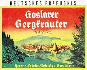Klicken Sie auf die Grafik für eine größere Ansicht  Name:brennerei friedrich schulze goslar,goslarer bergkräuter.jpg Hits:5 Größe:143,3 KB ID:13937