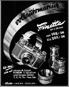 Klicken Sie auf die Grafik für eine größere Ansicht  Name:goslar, finetta werbung 1953.jpg Hits:28 Größe:181,4 KB ID:15489