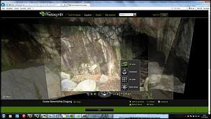Klicken Sie auf die Grafik für eine größere Ansicht  Name:Photosynth Baerenhoehle Hoehleneingang.jpg Hits:125 Größe:52,1 KB ID:15576