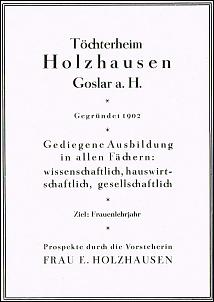 Klicken Sie auf die Grafik für eine größere Ansicht  Name:töchterheim holzhausen goslar.jpg Hits:119 Größe:104,4 KB ID:13678